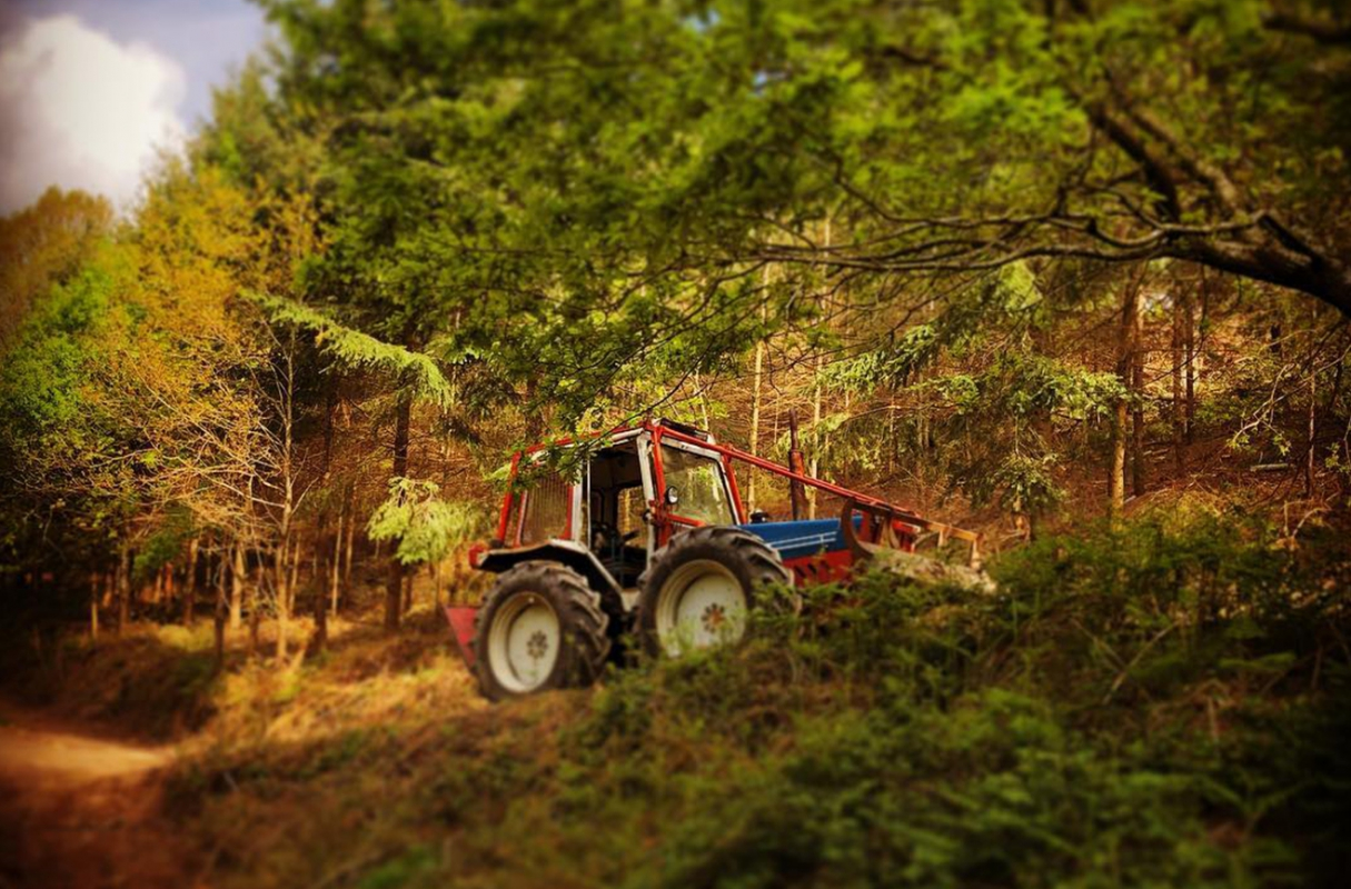 County Winch Tractor - sometimes you can't beat the old ones!